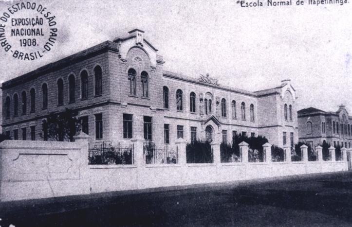 1908 - Escola Complementar de Itapetininga
