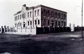 Cadeia Pública (inaugurada em 1915), em 1927. (Acervo MIS-I – Museu da Imagem e do Som de Itapetininga).