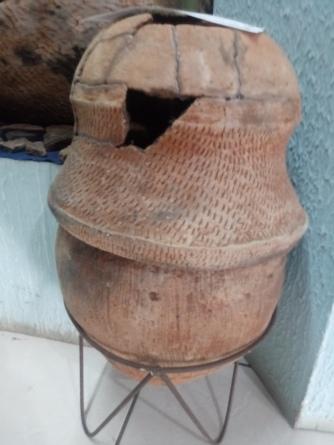 Urna da coleção do Museu de Itaí