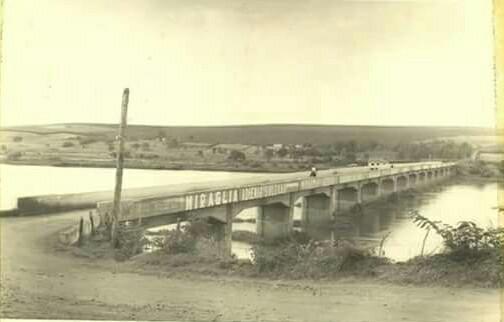ponte submersa Itapui - Boraceia