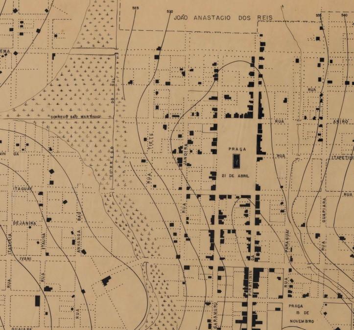 Mapa - Sertãozinho (1891)